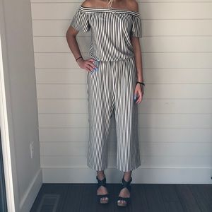 NWT Gibson Latimer Cropped Jumpsuit